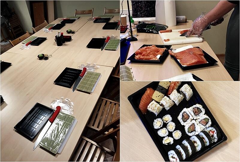 kurs sushi dla początkujących