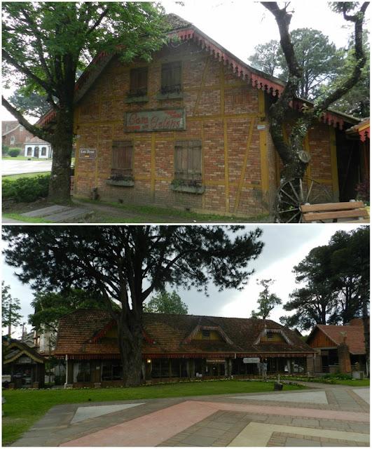 O que fazer no centro de Gramado - Praça das Etnias e Casa do Colono