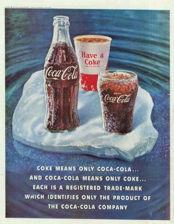 Coca Cola Magazine Ads From S