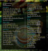 key of G notes music sheet