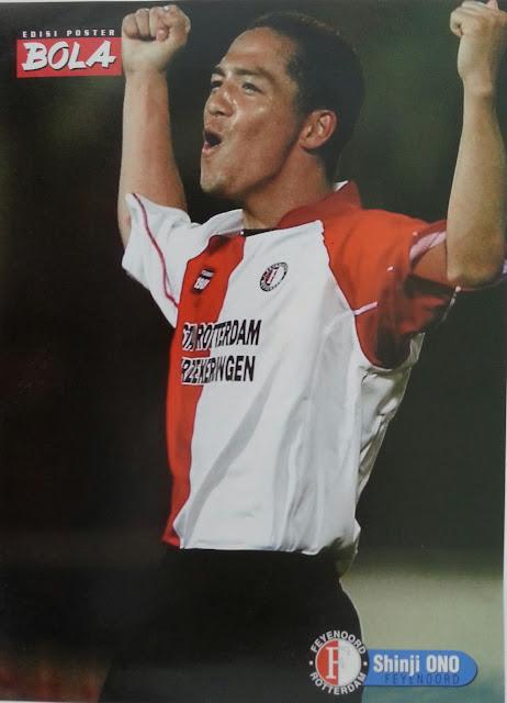Poster Shinji Ono (Feyenoord)