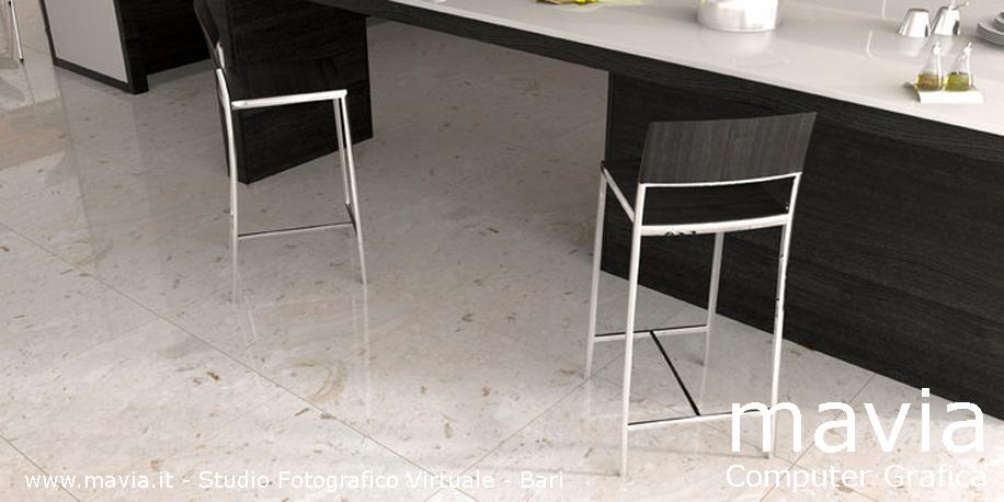Esterni 3dRendering 3dArchitettura 3d pavimentirivestimentimarmo