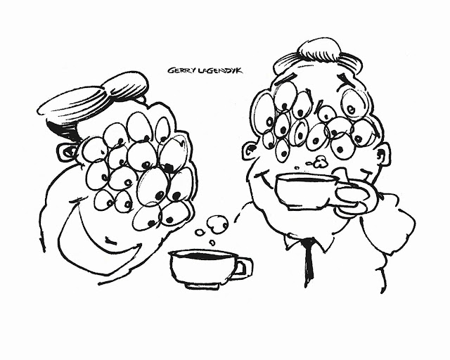 Coffee Crazy, cartoon about coffee