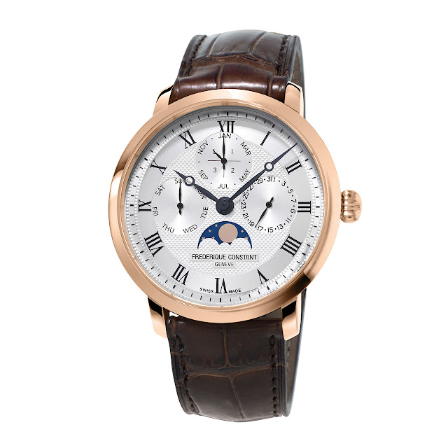 Frédérique Constant Manufacture Perpetual Calendar Mechanical Automatic Watch