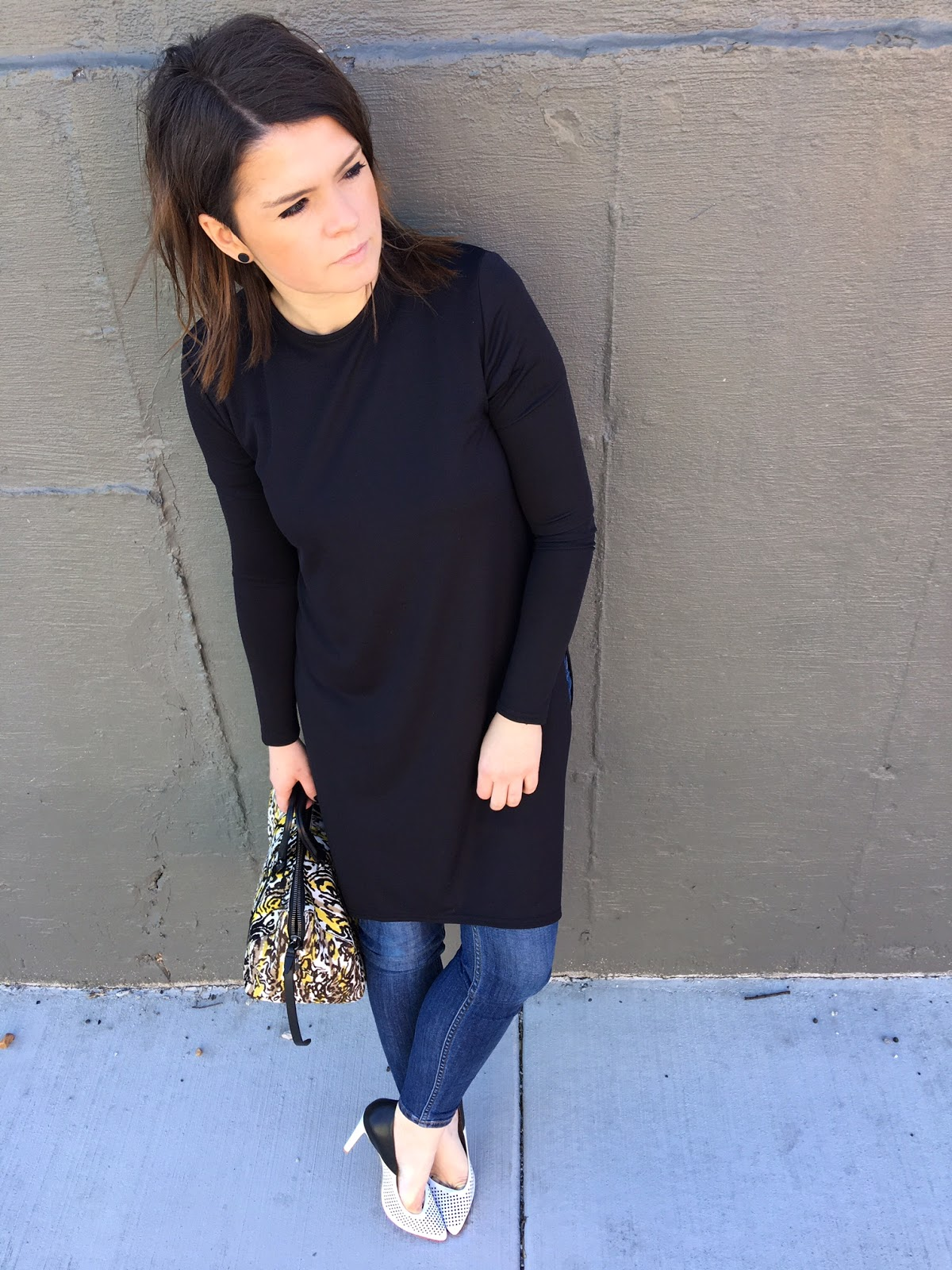Long black tunic