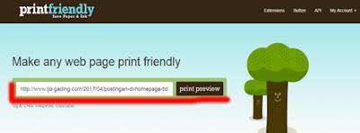 Cara Mudah dan Cepat Menjadikan Postingan Blog ke format Pdf