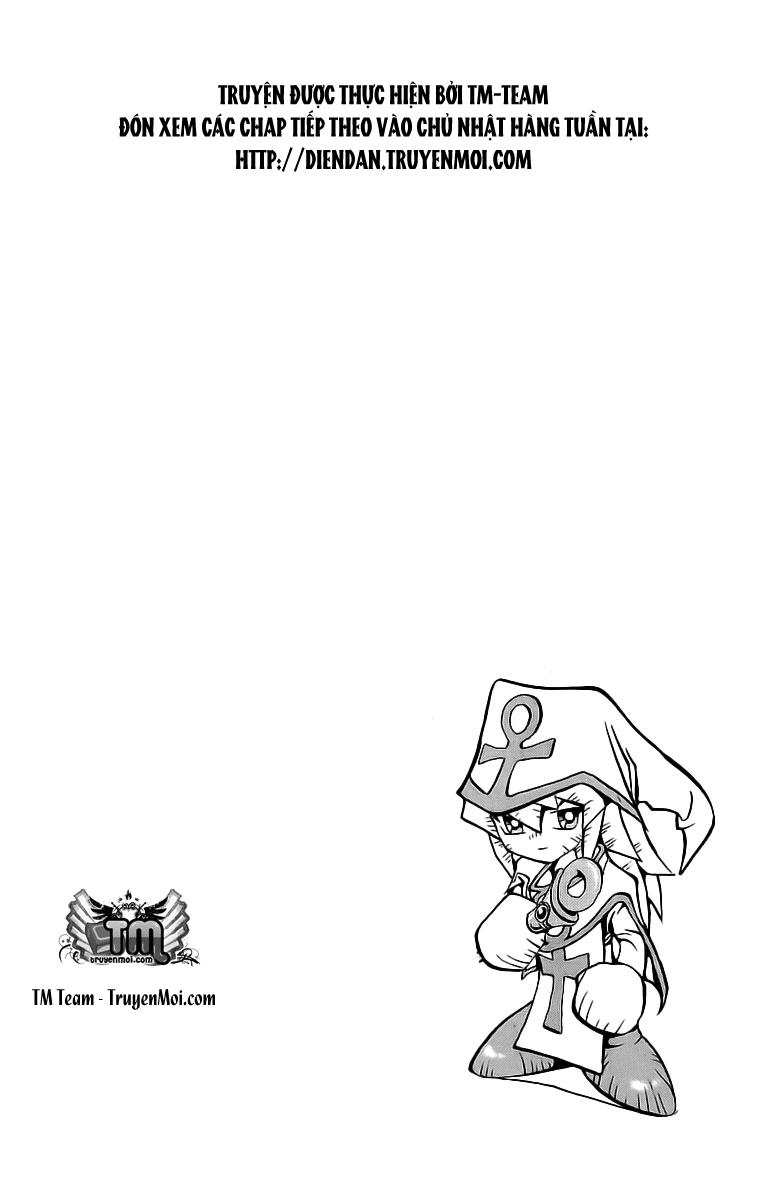 YUGI-OH! chap 58 - phần ix: phù thủy trắng bakura trang 22
