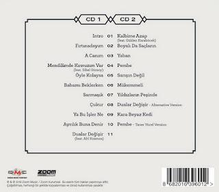 Yeni albümüne annesinin ismini vermiş.İşte Mabel Matiz'in yeni 2018 albümü Maya!