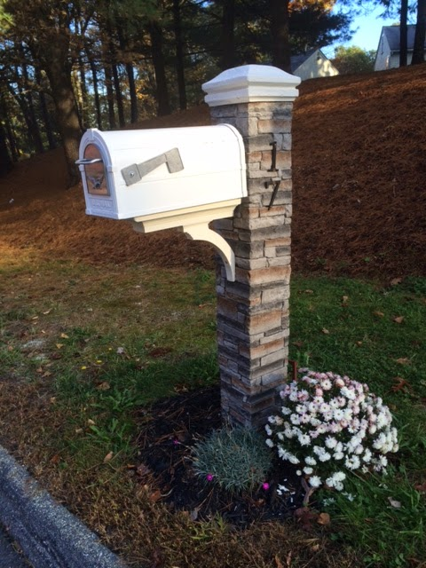 Living Life Thankful: How to Install a New Mailbox