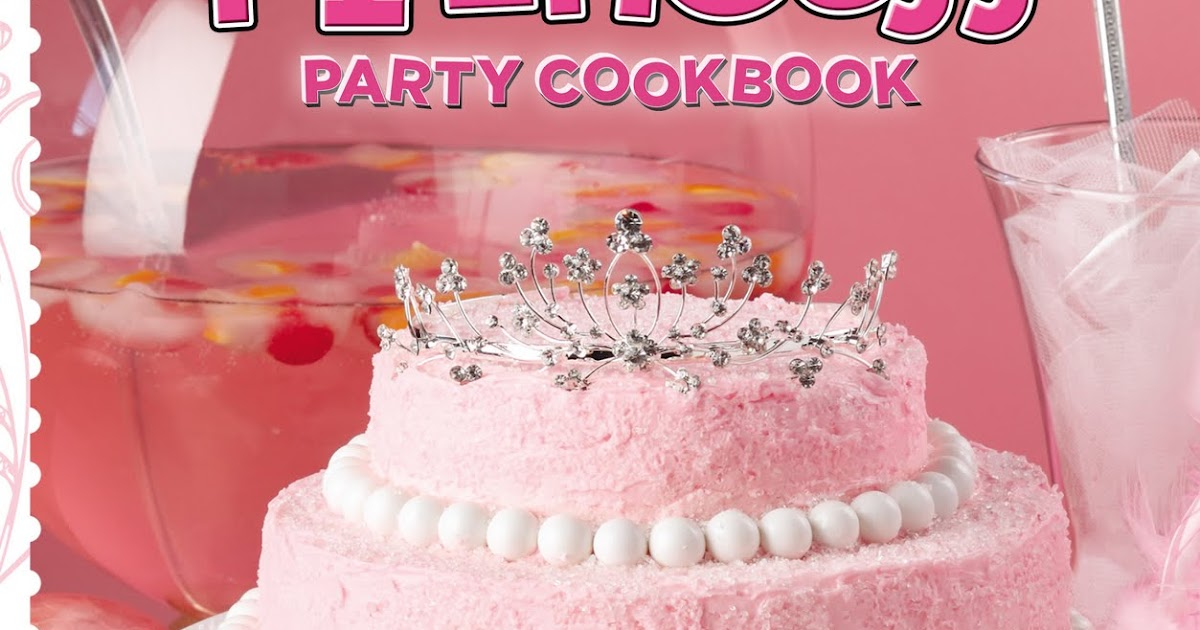 Burp Cookbook Review Pink Princess Party Cookbook