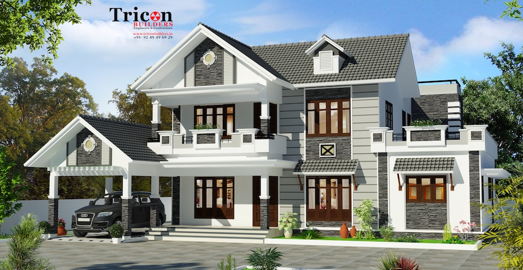 2914 Sqft 4 Bedroom Luxury Villa design