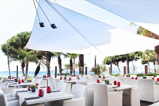 Restaurante de hotel em Cannes