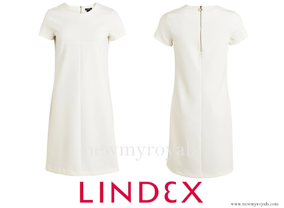 Princess Sofia Hellqvist wore Lindex Short sleeve dress