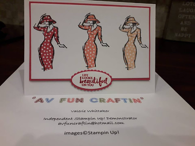 Beautiful You Stampin Up