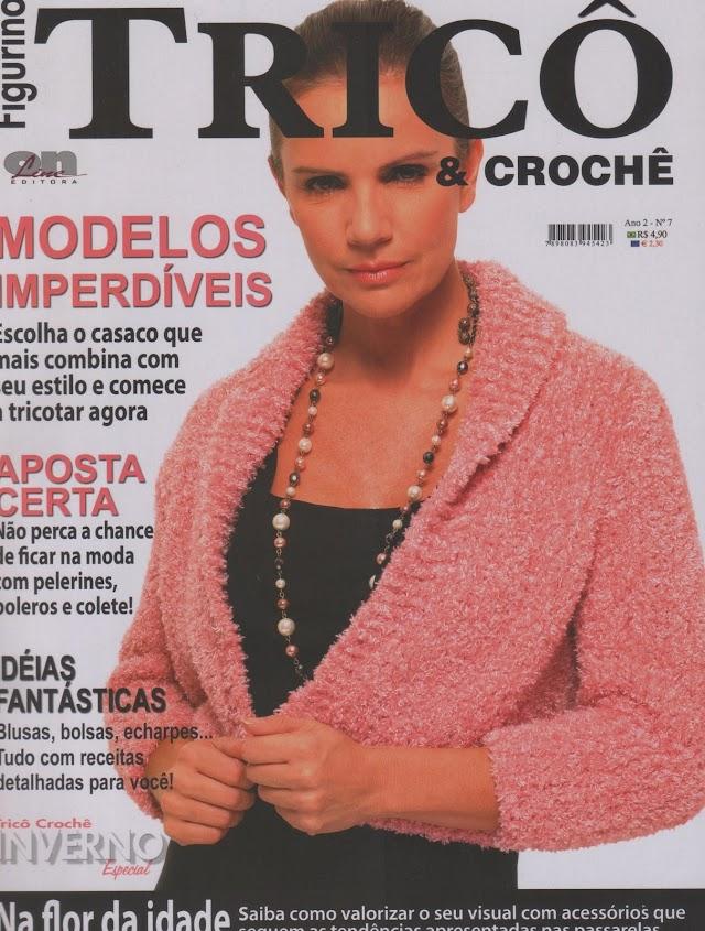 FIGURINO TRICÔ E CROCHÊ-Revista