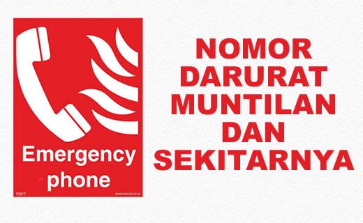 Nomor Telepon Penting / Darurat Kota Muntilan