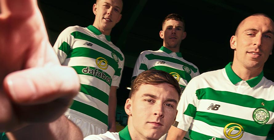 c5cc7bfb232 Celtic FC and New Balance just unveiled the new 2019-20 home kit at the  previously announced launch event in Glasgow.