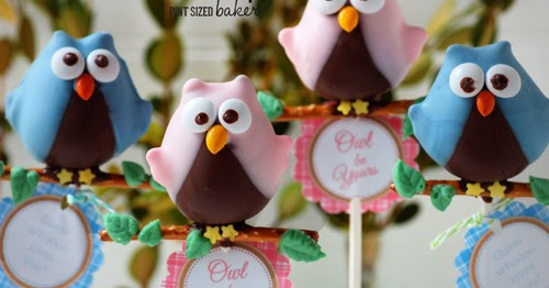 My Owl Barn Owl Love You Cake Pops Printable Tags