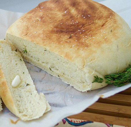 HERBED CROCK POT BREAD RECIPE #diet #breadrecipe