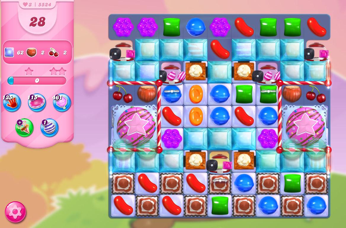 Candy Crush Saga level 5524