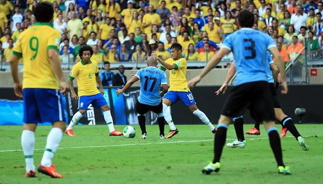Brasil vs Uruguay en vivo Eliminatorias Rusia 2018