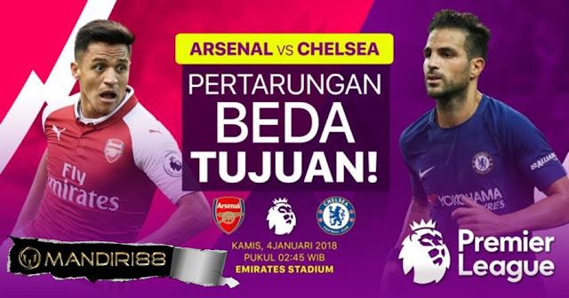 Prediksi Bola : Arsenal Vs Chelsea , Kamis 04 January 2017 Pukul 02.45 WIB @ RCTI