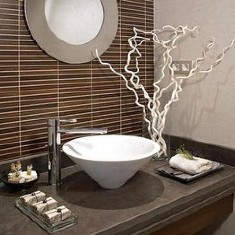 baño zen u oriental