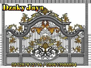 Model Pintu Gerbang Klasik Untuk Rumah Mewah