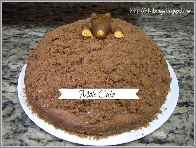 Little Brags: German Mole Cake / Maulwurf Kuchen | {Küchenmöbel made in germany 98}