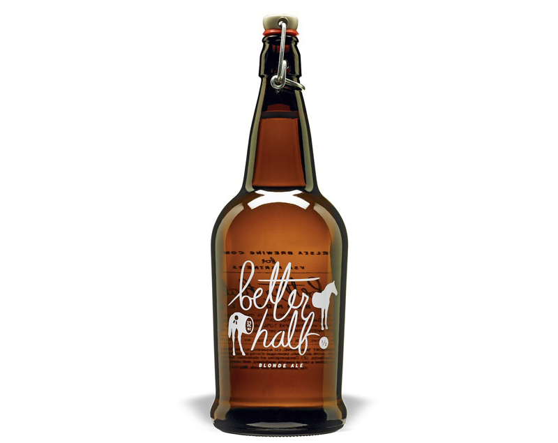 Better Half VSA Partners beer packaging