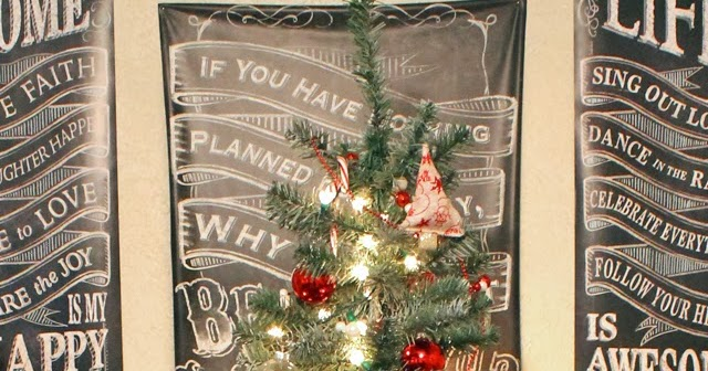 Punk Projects: Snow Frosted Christmas Tree DIY