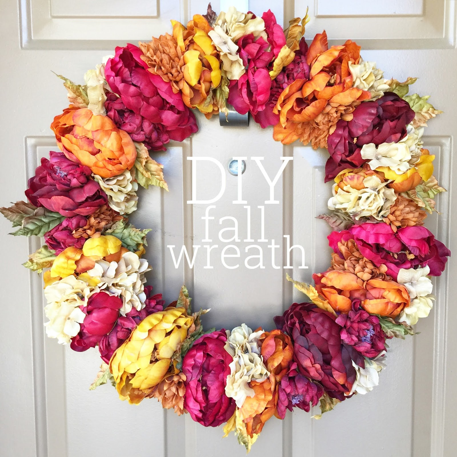 Finest Lisa loves John: DIY Fall Wreath GG32
