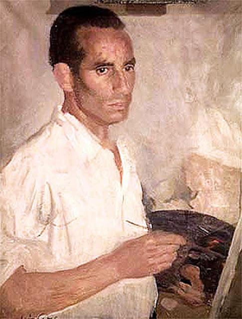 Fermin Santos Alcalde,  Maestros españoles del retrato, Pintor español, Retratos de Fermin Santos Alcalde, Pintores de Guadalajara, Pintores españoles, Fermin Santos
