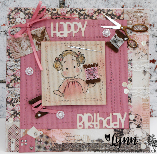 Tilda with Gummiapan Sewing Die Set | By Lynn
