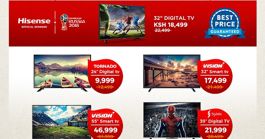 Jumia Launches Crazy TV Deals!