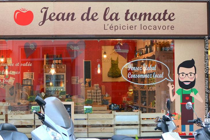 Jean de la tomate, épicerie locavore