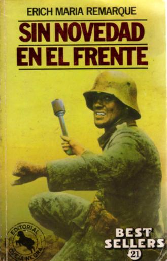 Sin Novedad En El Frente – Erich Maria Remarque