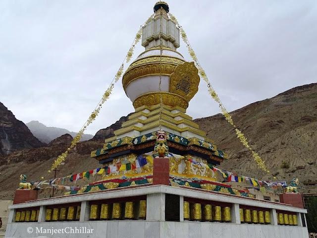 Stup of Kalchakara, Tabo Monastery