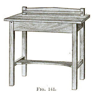 Mission style writing desk plans - How to build a mission writing desk - img 1