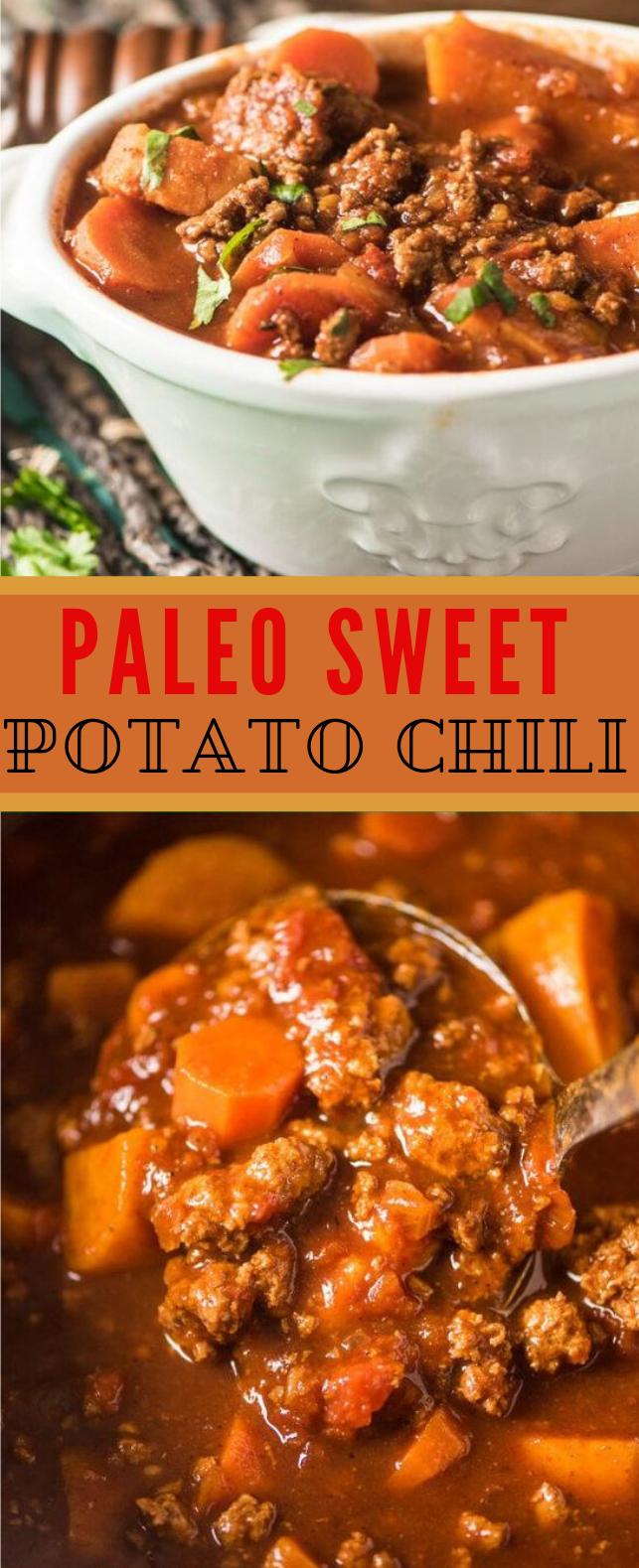 PALEO SWEET POTATO CHILI #diet #paleo