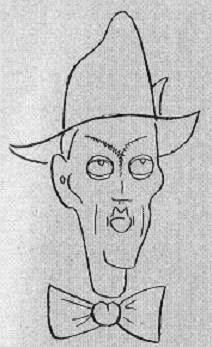 Caricatura del Dr. Esteve Puig i Puig