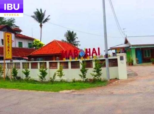 Mabohai Resort Klebang Melaka pintu masuk