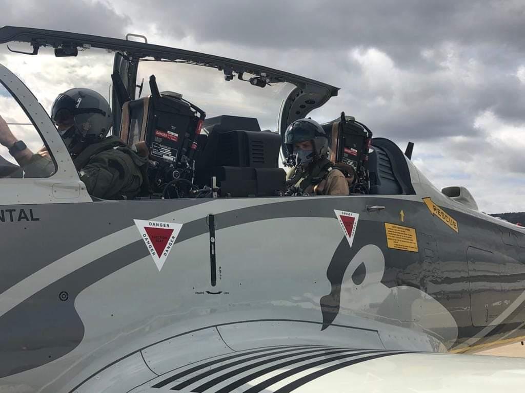 Пілоти ПС ЗСУ виконали ознайомчі польоти на Super Tucano