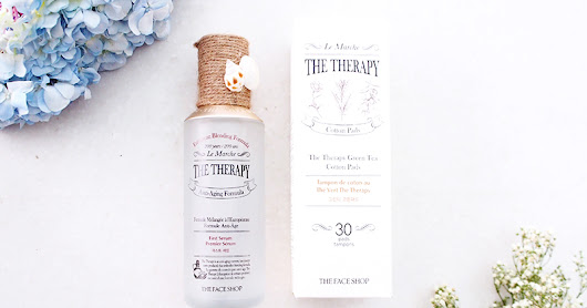 [Skincare] The Therapy First Serum by TheFaceShop