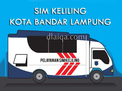 SIM Keliling Kota Bandar Lampung