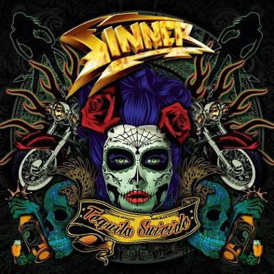 """Το τραγούδι των Sinner """"Tequila Suicide"""" από τον ομότιτλο δίσκο τους"""