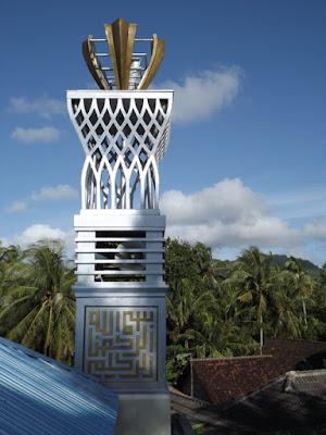 Menara Masjid Minimalis Modern