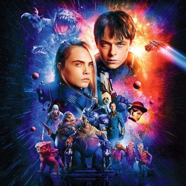Luc Besson returns with a gorgeous sci-fi treat in Valerian and the City of a Thousand Planets