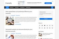 Frameify adalah template blogger profesional. Desainnya sederhana dan sangat bersih, yang membuat situs web yang menggunakannya memuat secepat mungkin, yang sangat penting untuk SEO situs Anda.