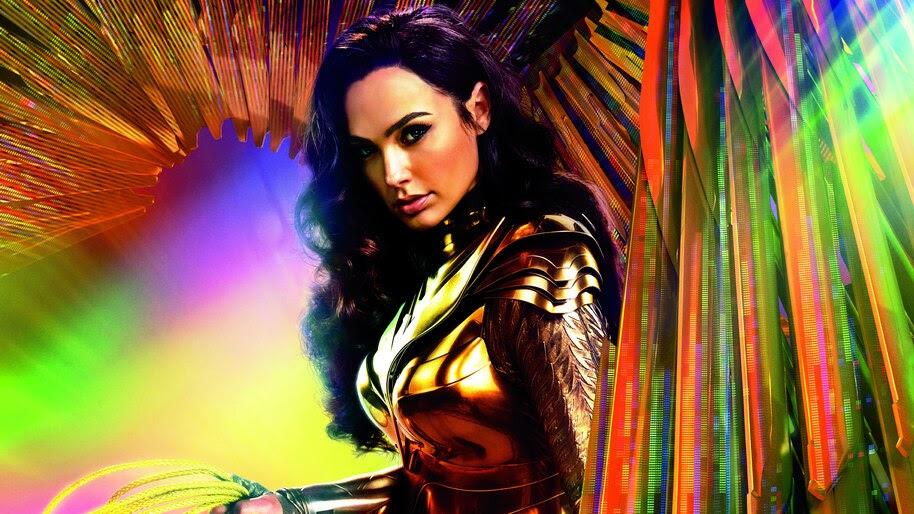 Wonder Woman 1984, Poster, Golden Eagle Armor, 4K, #3.2335